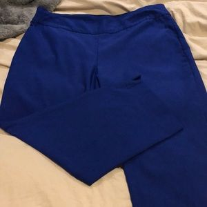 Gorgeous, Chicos, size 3(16), royal blue, pant